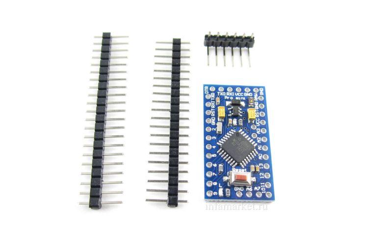 Arduino Pro Mini 5V 16MHz (комплект)