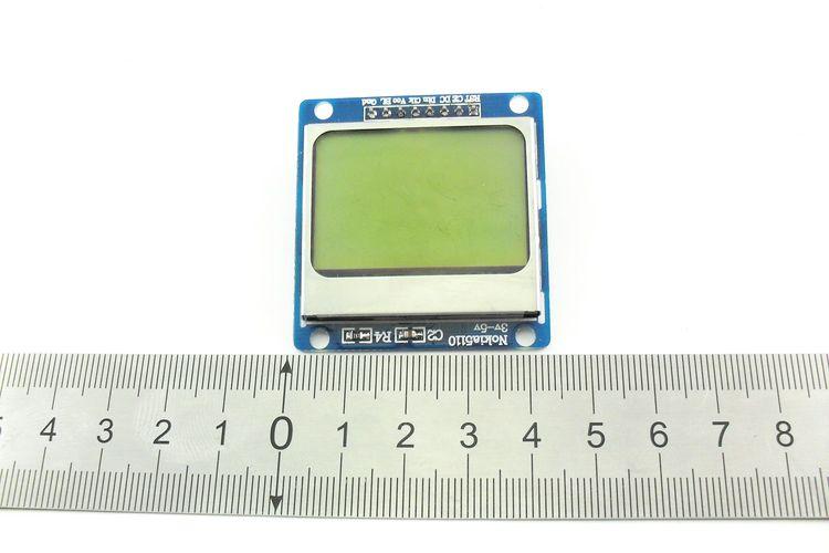 Дисплей Nokia 5110 синий (в длину)