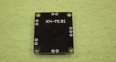 Модуль усилителя звука PAM8610 2х15W (вид сверху,задняя сторона)