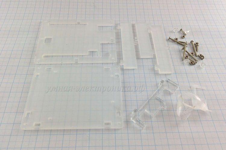 Корпус для Arduino Uno акриловый составной (в разобранном виде)