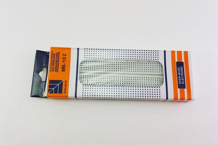 Макетная плата контактная Breadboard MB-102 (в упаковке)