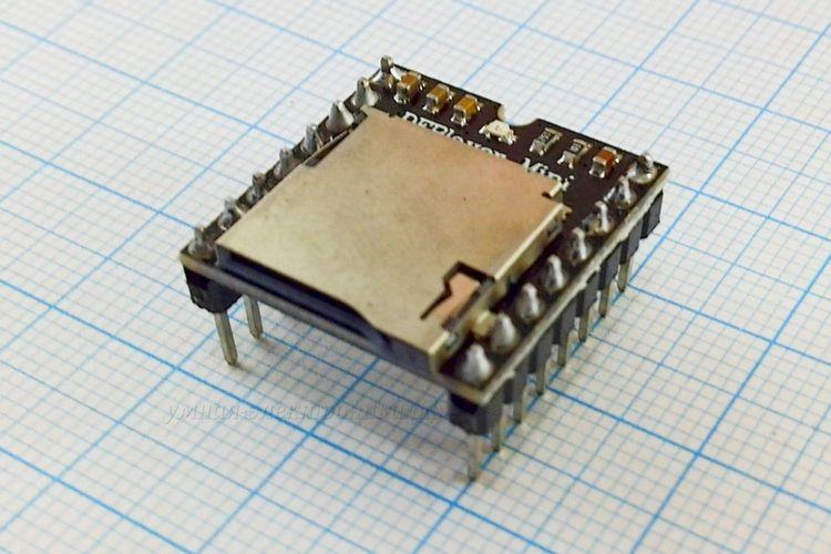 Модуль MP3 плеера DFPlayer Mini