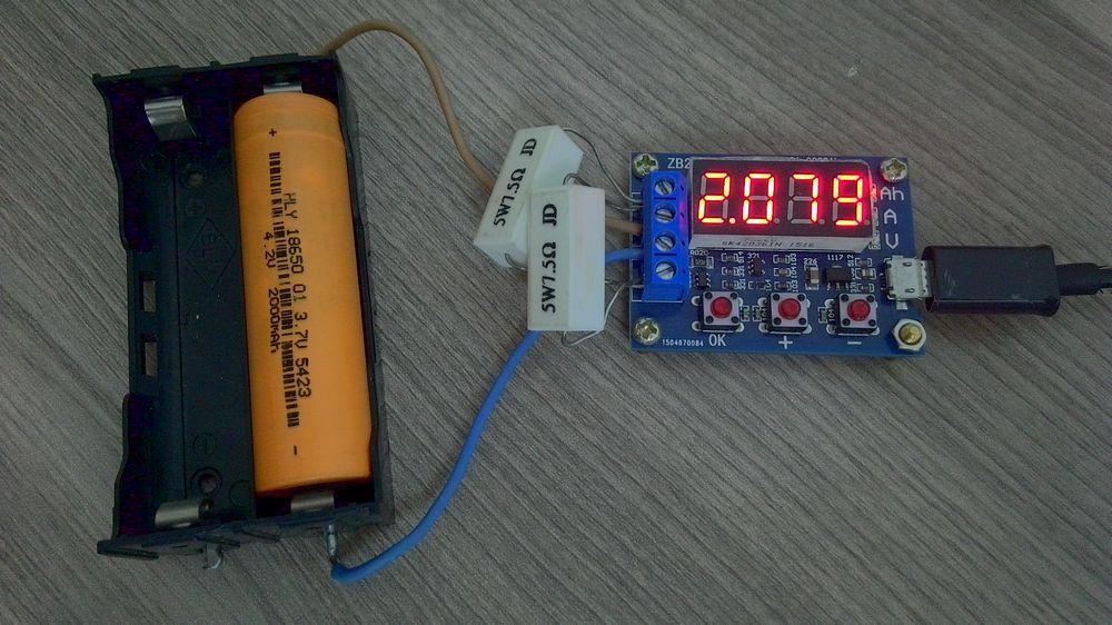 Аккумулятор li-on SZNS18650 3.7V 2000 mAh 25А Max