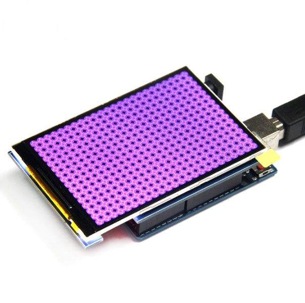 Дисплей TFT 3.5 дюйма 320х480 ILI9486_V1.2 для Arduino Uno Mega Due