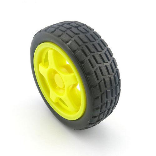 Колесо 65 мм №2 желтое