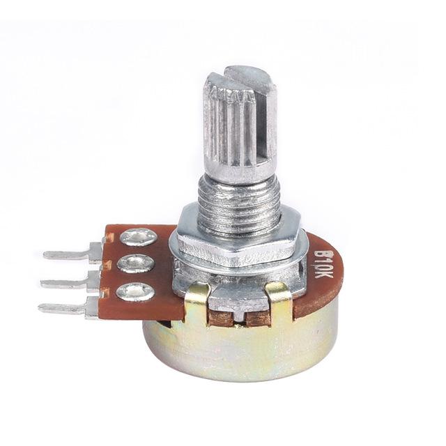 Резистор переменный WH148 B10K (10 кОм) 0,5 Вт