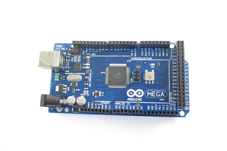 Arduino MEGA 2560 R3 (вид сверху)