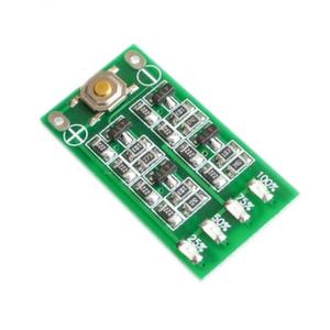 Индикатор степени заряда LED 12V аккумулятора (вид сверху)