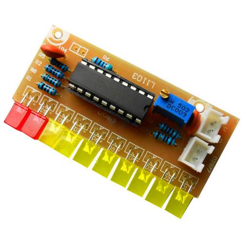 КИТ набор 10LED индикатор уровня звука 9-12V на LM3915