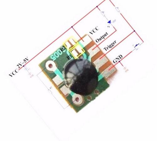 Модуль таймер задержки запуска от 2 с до 1000 ч 2-5V DO>30mA_подключение