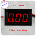 DC 0 ~ 10A цифровой амперметр 0.36