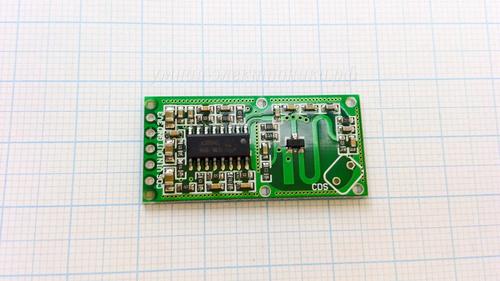 Датчик движения RCWL-0516 4-28V микроволновый