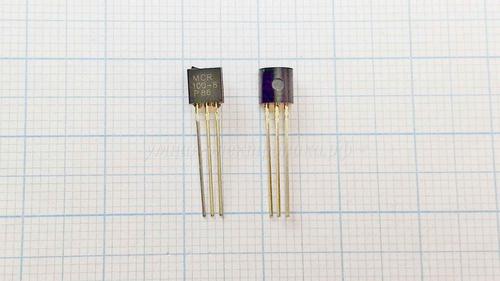 Тиристор MCR100-8G 0.8А 600ВTO-92 10 шт