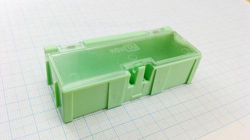 Ячейка с крышкой Wentai №2 75х31х21мм зеленая