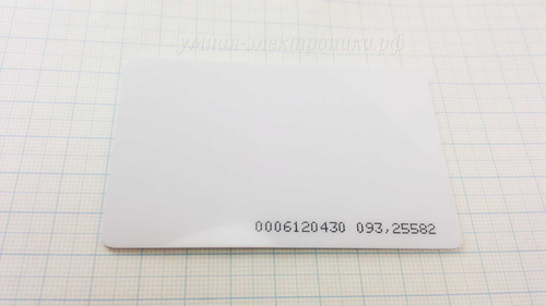 RFID карта (ID метка) EM-Marin EM4100 125KHz