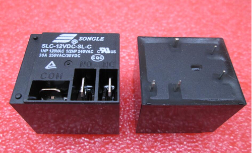 Реле SLC-12VDC-SL-C 30A 250VAC/30VDC