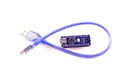 Arduino Nano V3 328 16M 5V CH340G с кабелем