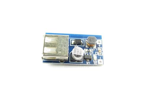 Преобразователь DC-DC UP 0.9~5V to 5V 600mA USB CV (вид сверху)