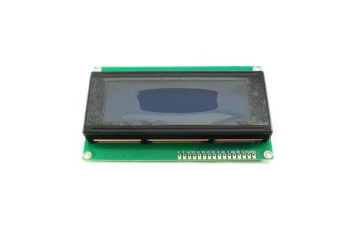 Дисплей LCD 2004 синий (вид спереди)
