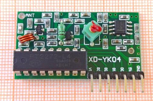 Модуль беспроводного приемника PT2272-L4 315МГц