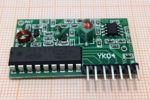 Модуль беспроводного приемника PT2272-M4 315МГц ( вид спереди)