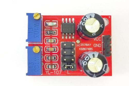 Модуль генератора импульсов NE555 YS-32 1-200кГц ( вид сверху)