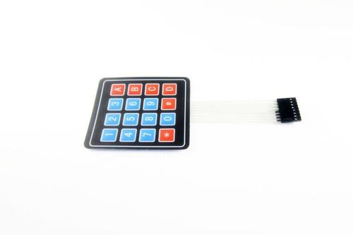 Модуль клавиатуры мембранной 16-клавишной