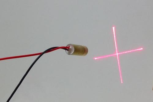 Модуль лазера 9mm 5mW 3V крест