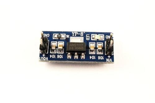 Стабилизатор напряжения на AMS 1117 3.3V 0.8А ( вид сверху)