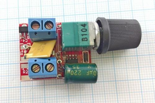 Регулятор напряжения DC-DC ZS-X4A PWM 3-35V 90W 5A