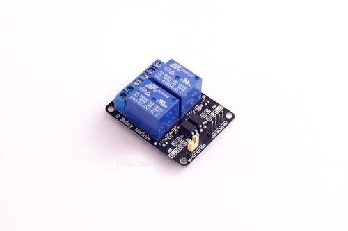 Модуль реле 2Х 5V LL с оптопарами