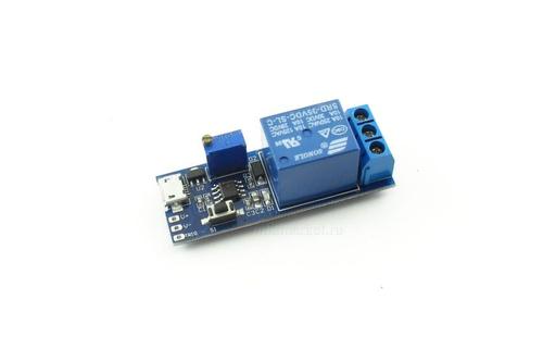 Модуль реле задержки выключения XD230 5V-30V 0-24с 2500W
