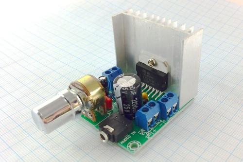 Модуль усилителя звука TDA7297 2х15W