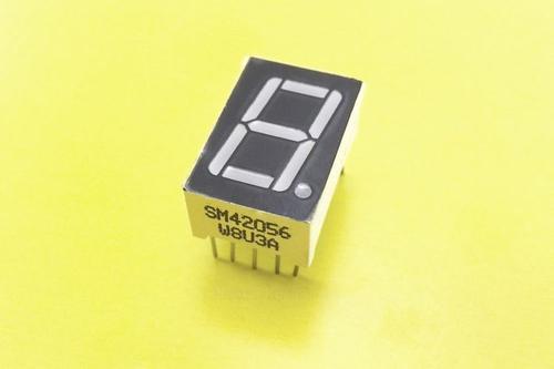 Семисегментный LED индикатор 0,56 1Х ОК красный