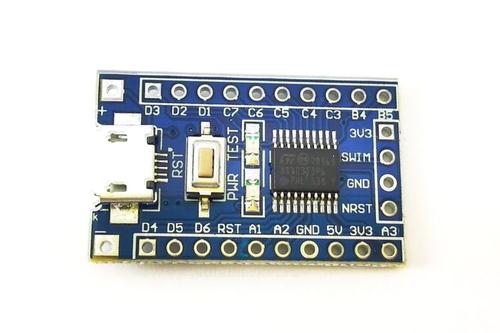 Микроконтроллер STM8 STM8S103F3P6 5V 16MHz (вид сверху)