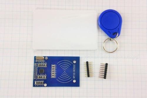 Модуль контроля доступа RFID RC522 (вид сверху)