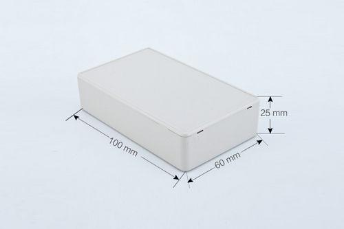 К1, корпус для РЭА  100*60*25 мм пластик.