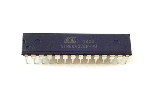 Микроконтроллер ATMEGA328P-PU в корпусе DIP-28