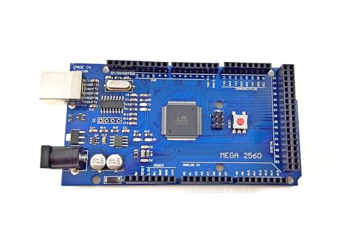Arduino MEGA 2560 R3 CH340G (вид сверху)