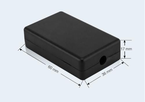 К25, корпус для РЭА 60*36*17 мм пластик.