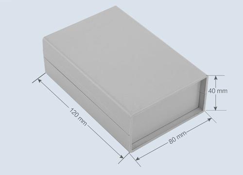 К11, корпус для РЭА  120*80*40 мм пластик.