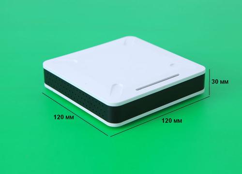 К17, корпус для РЭА  120*120*30 мм пластик.