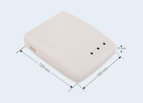 К19, корпус для РЭА  123*100*31 мм пластик.