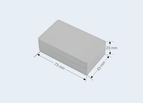 К21, корпус для РЭА  73*43*23 мм пластик.