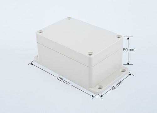 К24, корпус для РЭА  123*68*50 мм пластик.