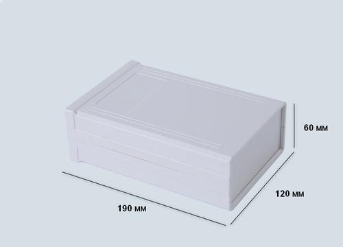 К29, корпус для РЭА 190*120*60 мм пластик.