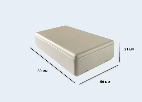 К8, корпус для РЭА  80*50*21 мм пластик.