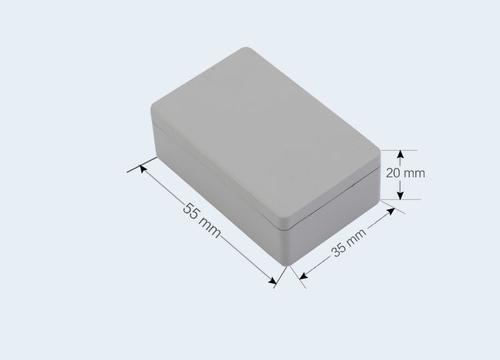 К9, корпус для РЭА  55*35*20 мм пластик.