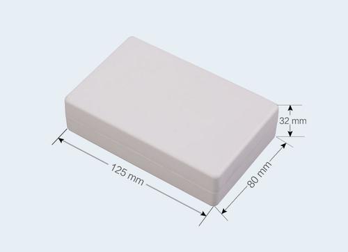 К3, корпус для РЭА  125*80*32 мм пластик.