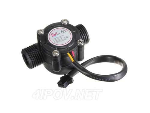 Датчик расхода воды YF-S201B G1/2 D20mm